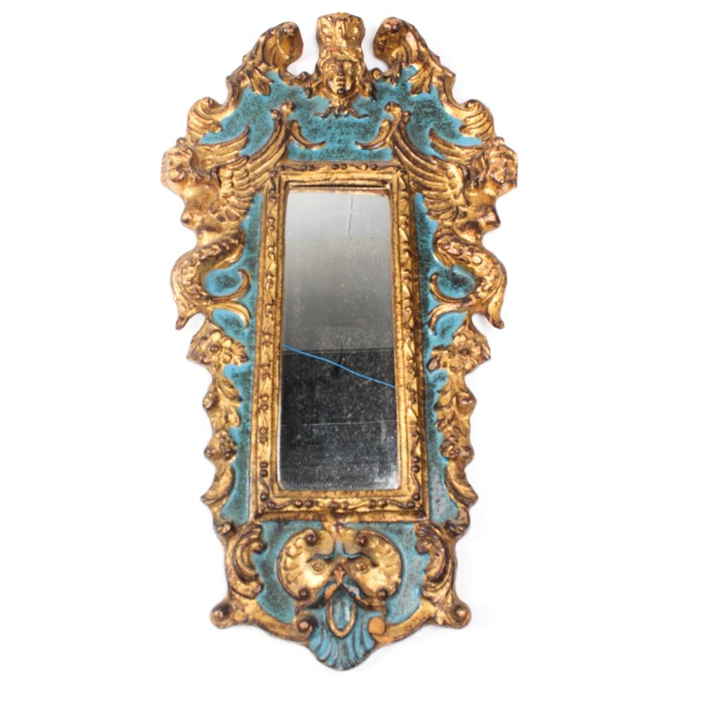 Vintage Florentine Gilt Wall Mirror