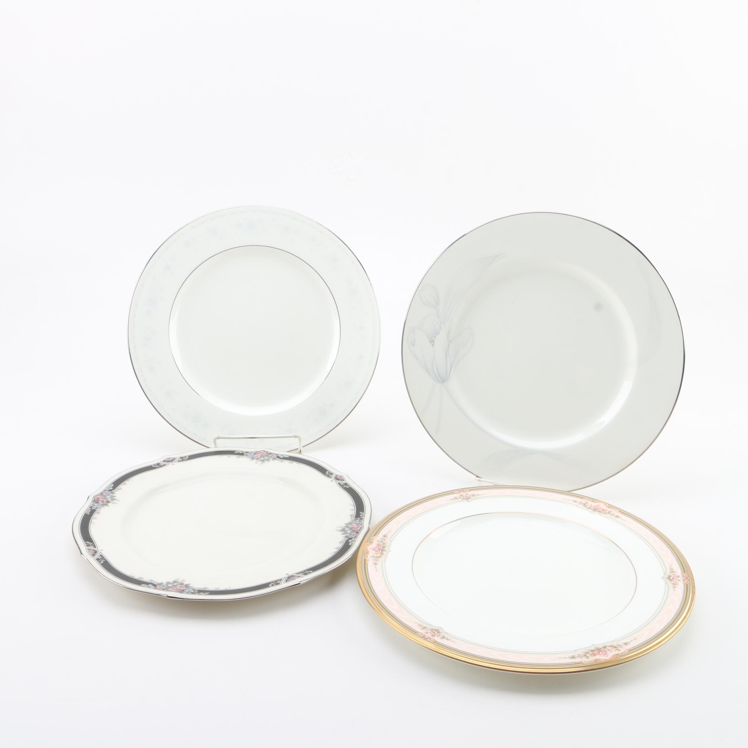 """Noritake Porcelain Plates Featuring """"Dreamspun"""""""