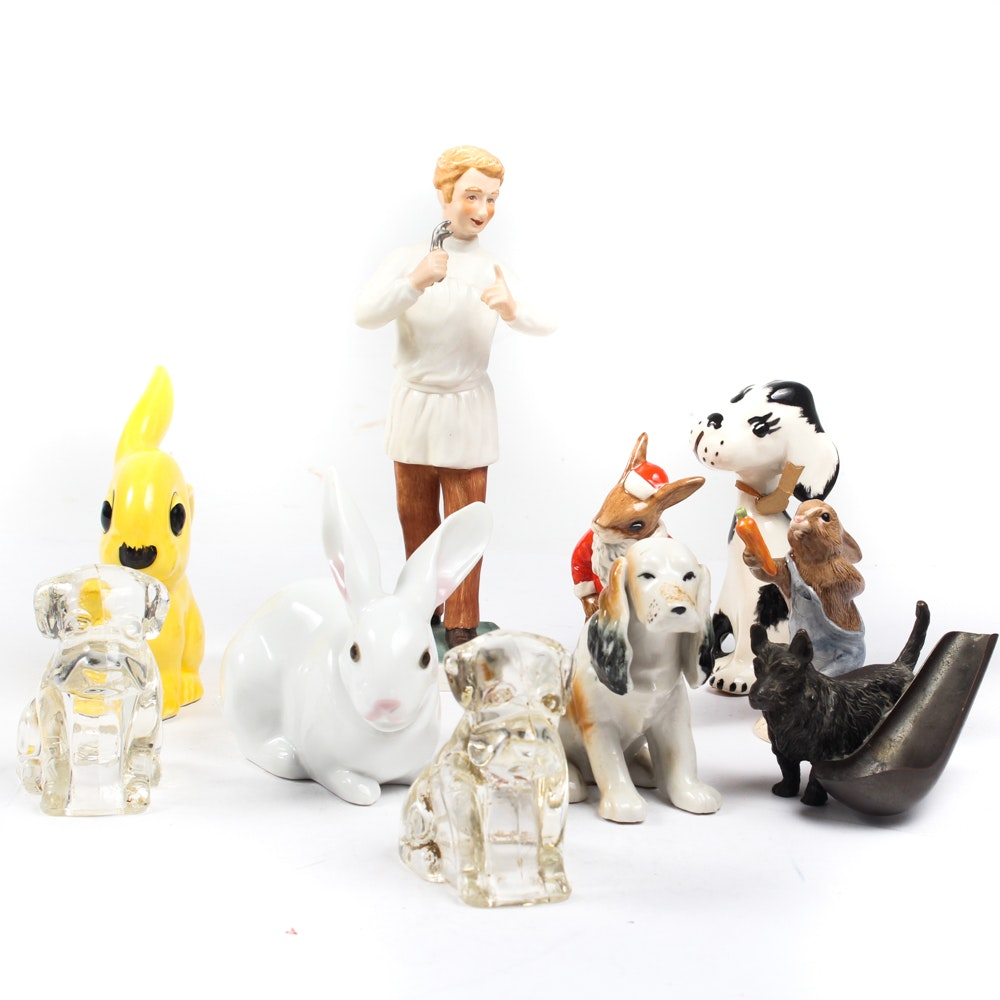 Vintage Figurines by Lladro, Goebel, Royal Doulton, and More