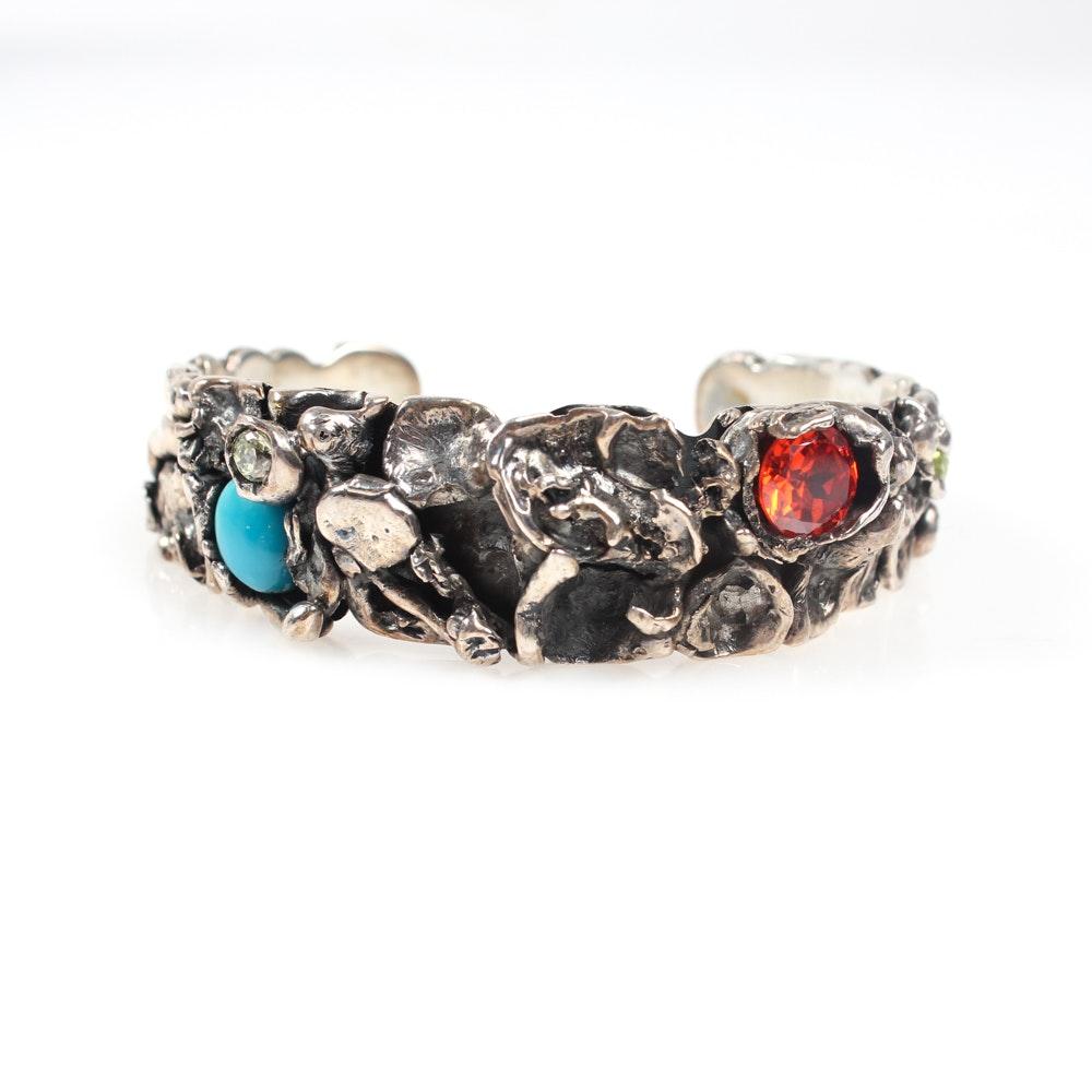 Artisanal Sterling Silver Bracelet
