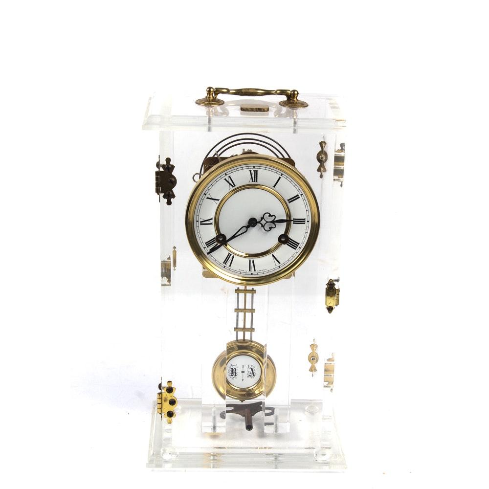 German Acrylic Clock