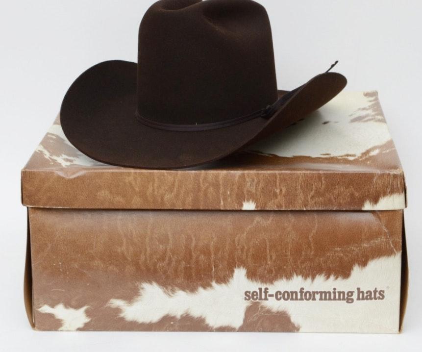 Resistol Self-Conforming 3X Beaver Felted Hat