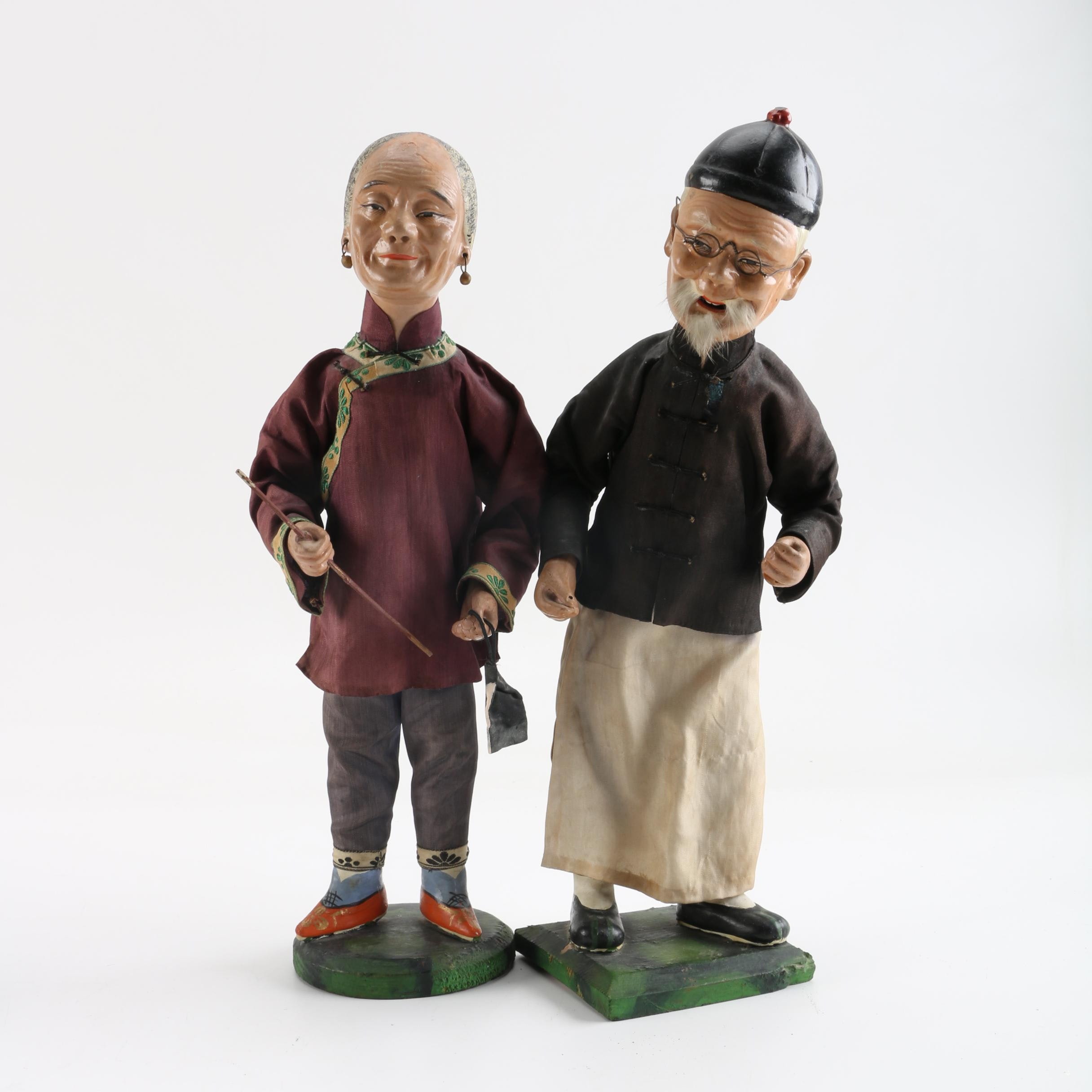 Chinese Wooden Dolls