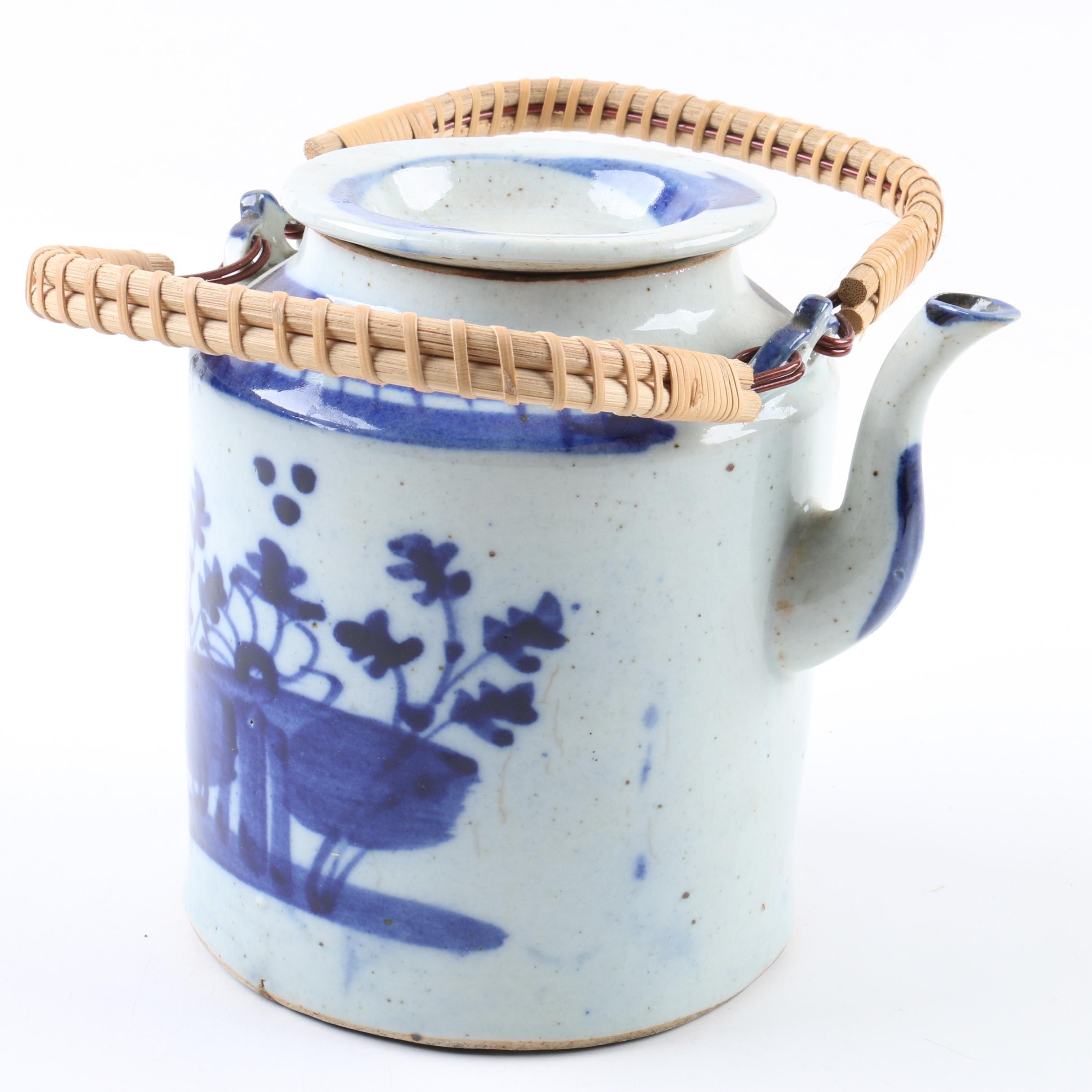 Japanese Stoneware Teapot