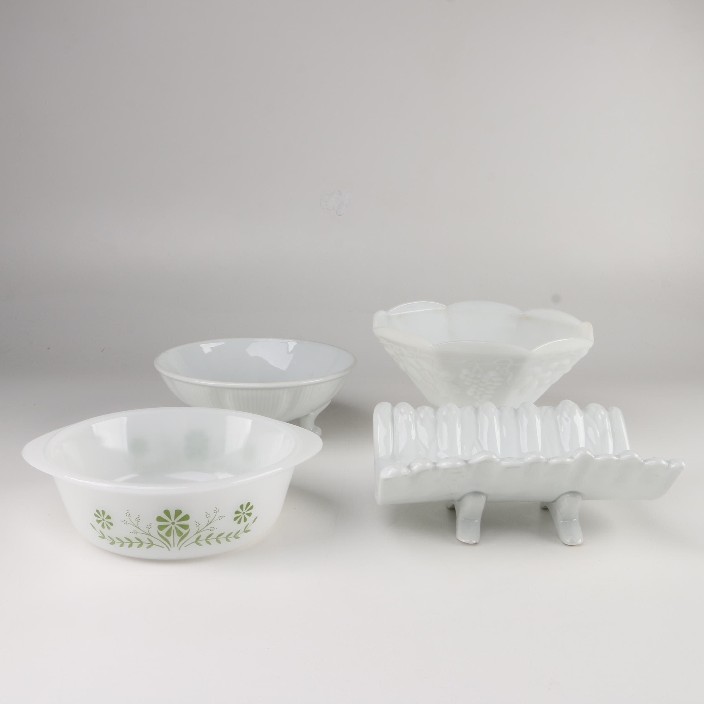 Vintage Ceramic Bowls and Decor