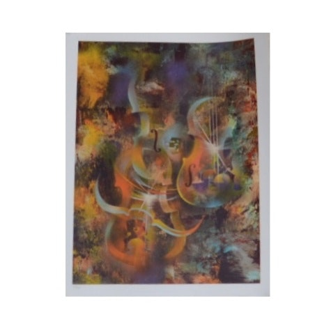 Limited Edition Signed Lithograph after Leonardo Nierman