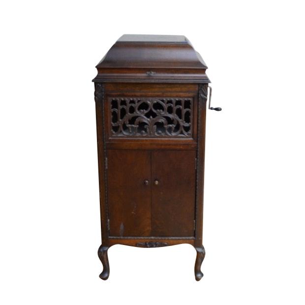 Antique Silvertone Phonograph