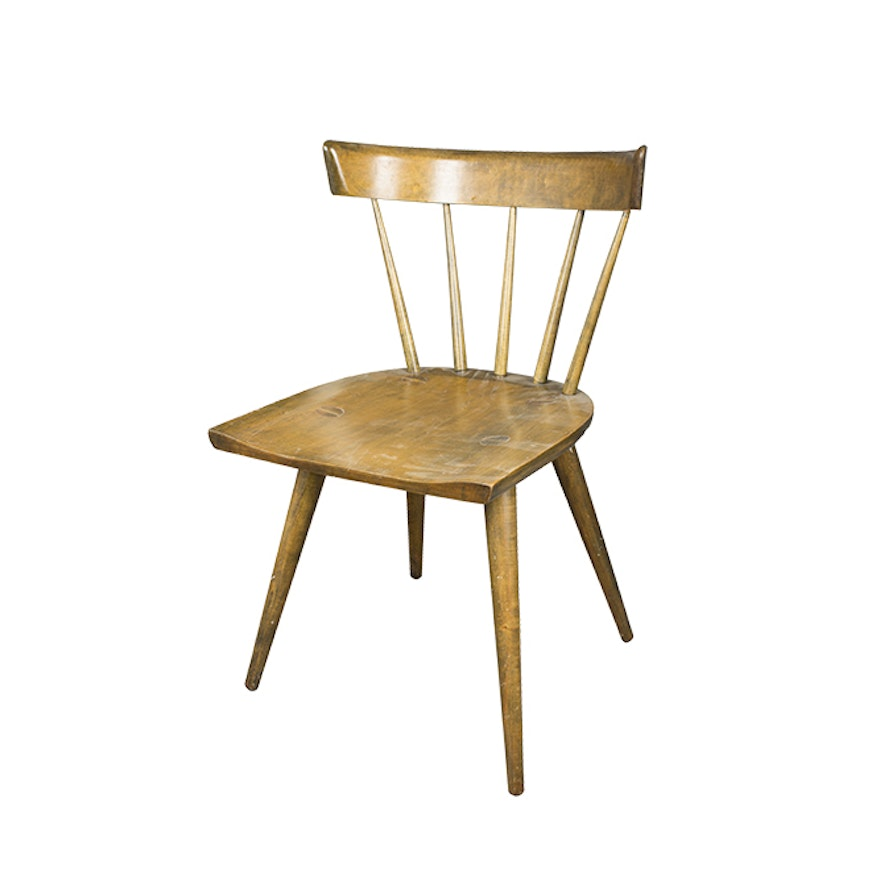 Paul Mccobb Planner Group Spindle Back Chair For Winchendon