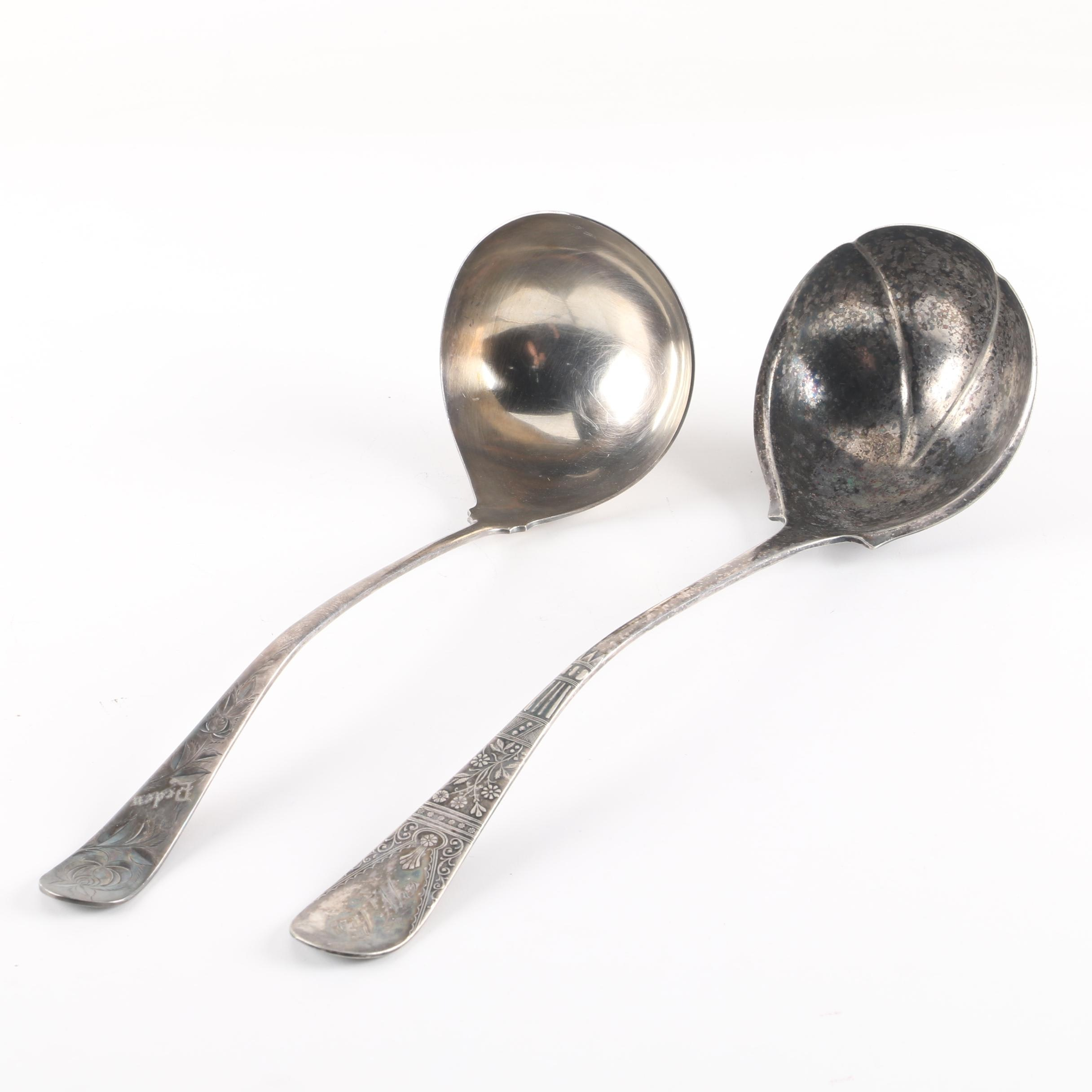 Holmes & Edwards and Rogers Bros. Silver Plate Ladles