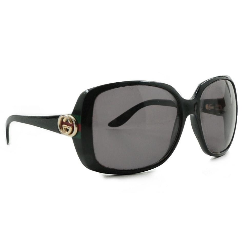 Gucci Black Sunglasses GG 3166/S D283H 59MM