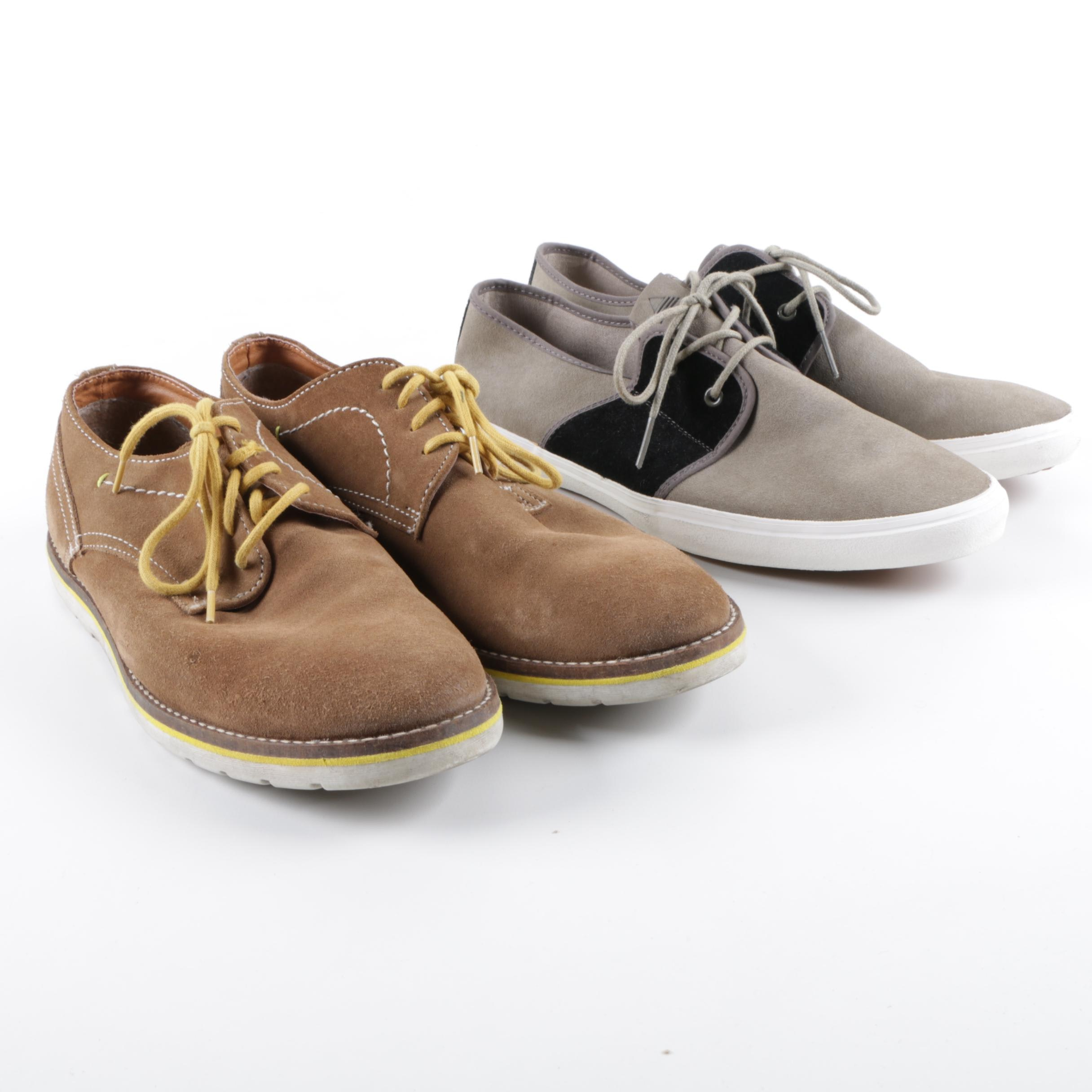 Men's Ben Sherman Suede Oxfords and Aldo Suede Sneakers