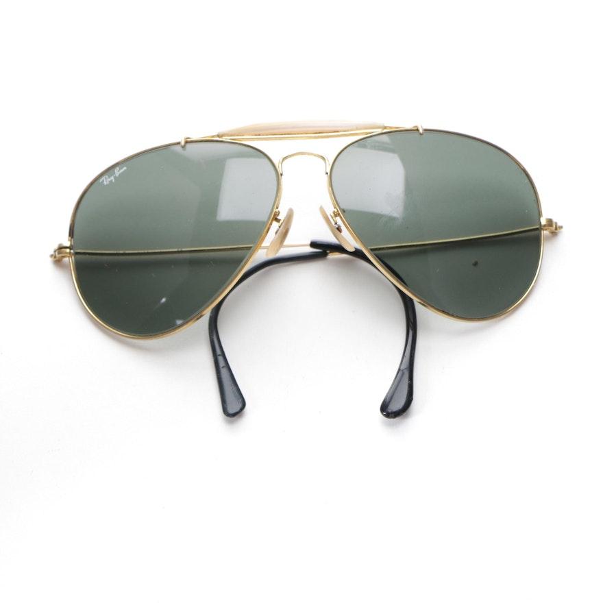 3f122b05d7 B L Ray-Ban Aviator Sunglasses   EBTH