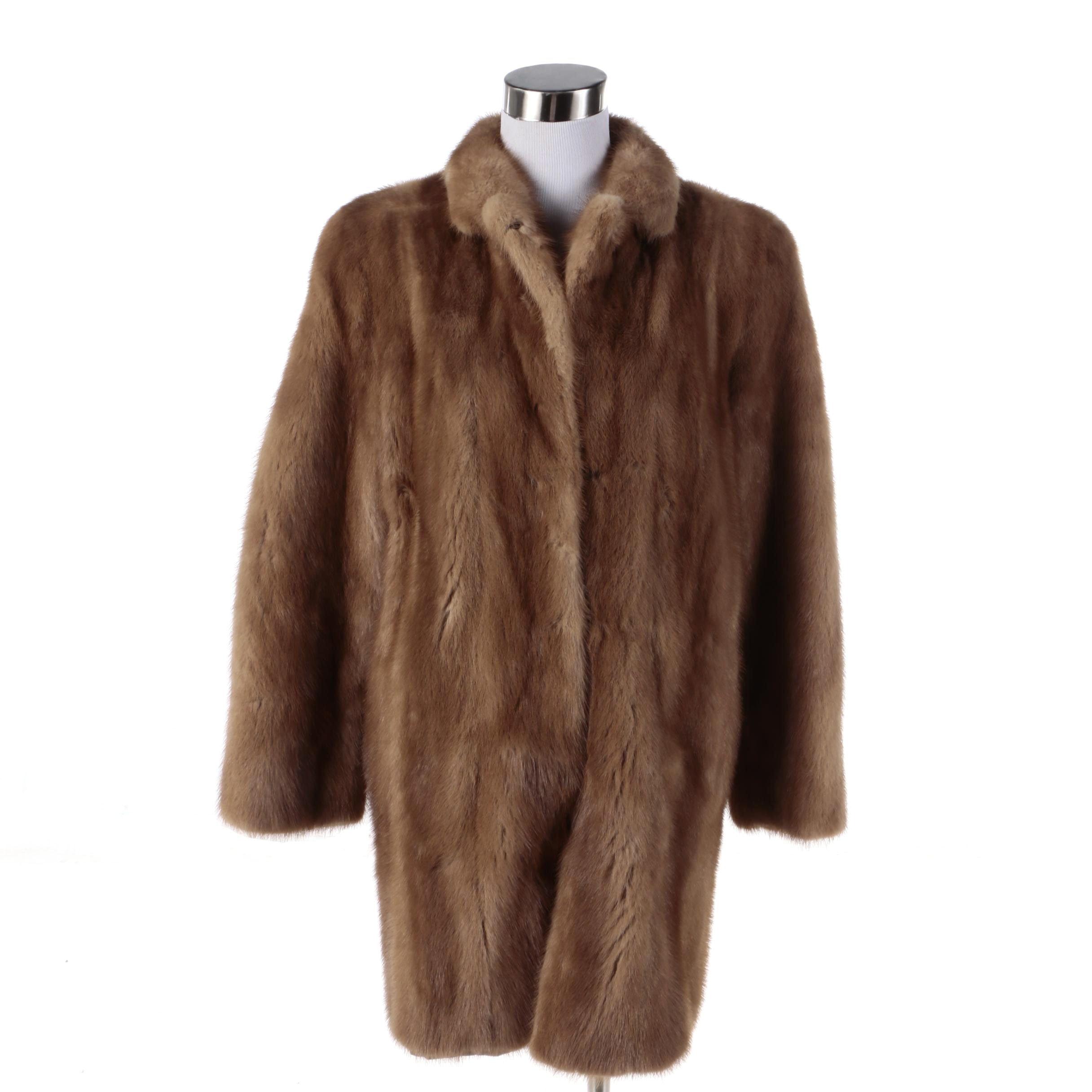 Hunch Furs Mink Fur Coat