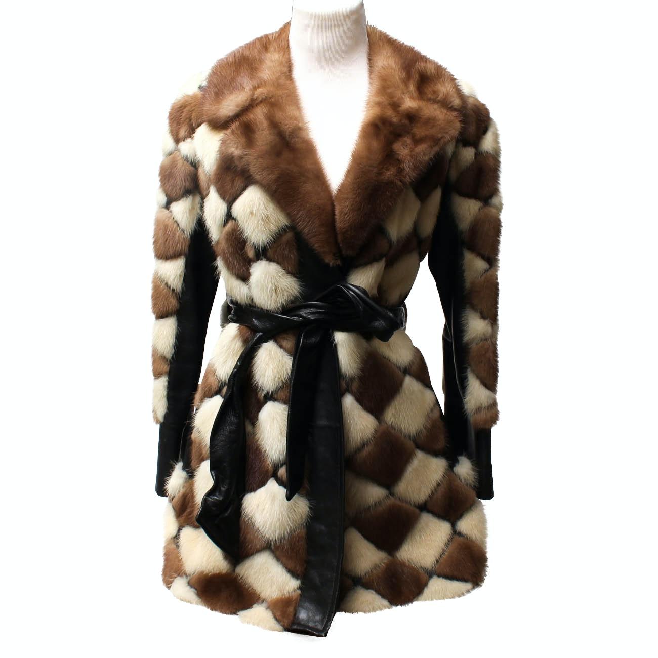 Quilted Fur Coat