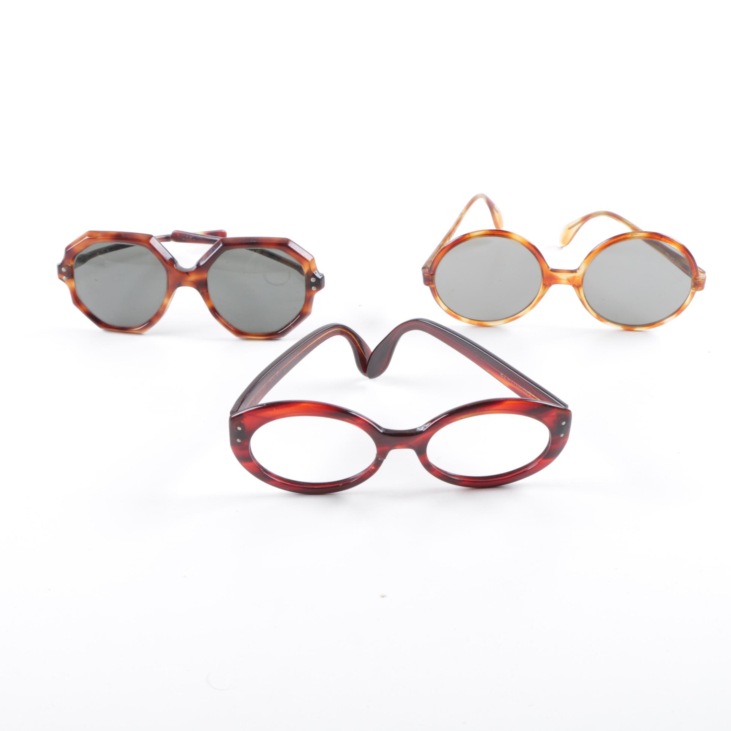 Vintage Sunglasses and Ray-Ban Frames