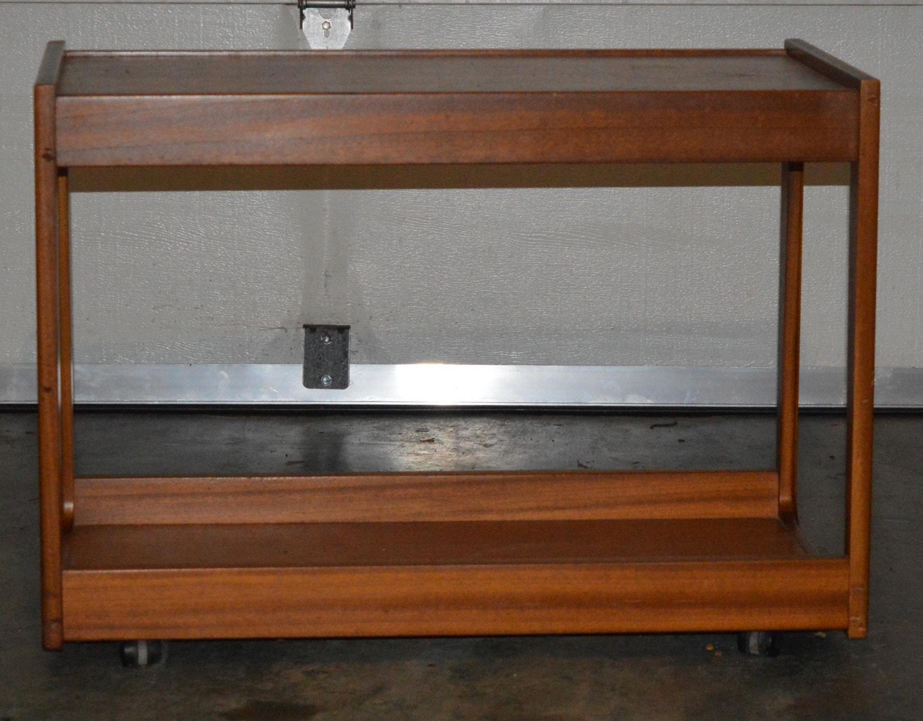 Teak Wood Rolling Table