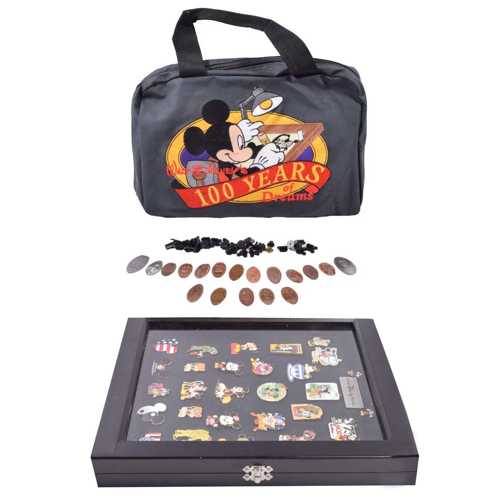 Disney Collector Pins Featuring Mickey and Minnie