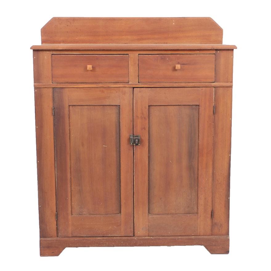 Antique Poplar Jelly Cupboard ... - Antique Poplar Jelly Cupboard : EBTH