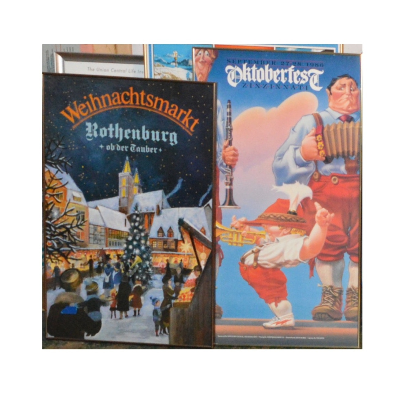 German, Oktoberfest and Travel Framed Posters