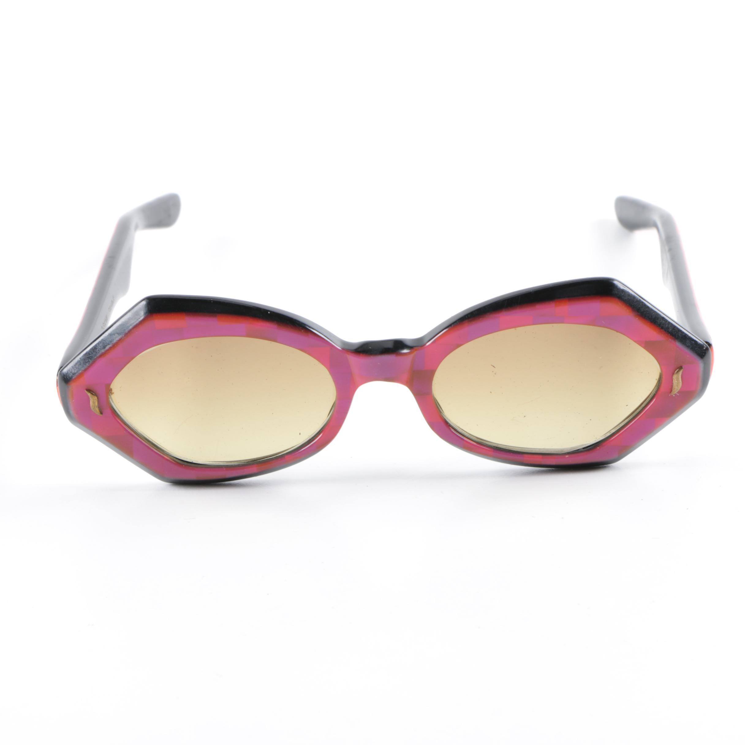 Circa 1960s Vintage French Sunglasses