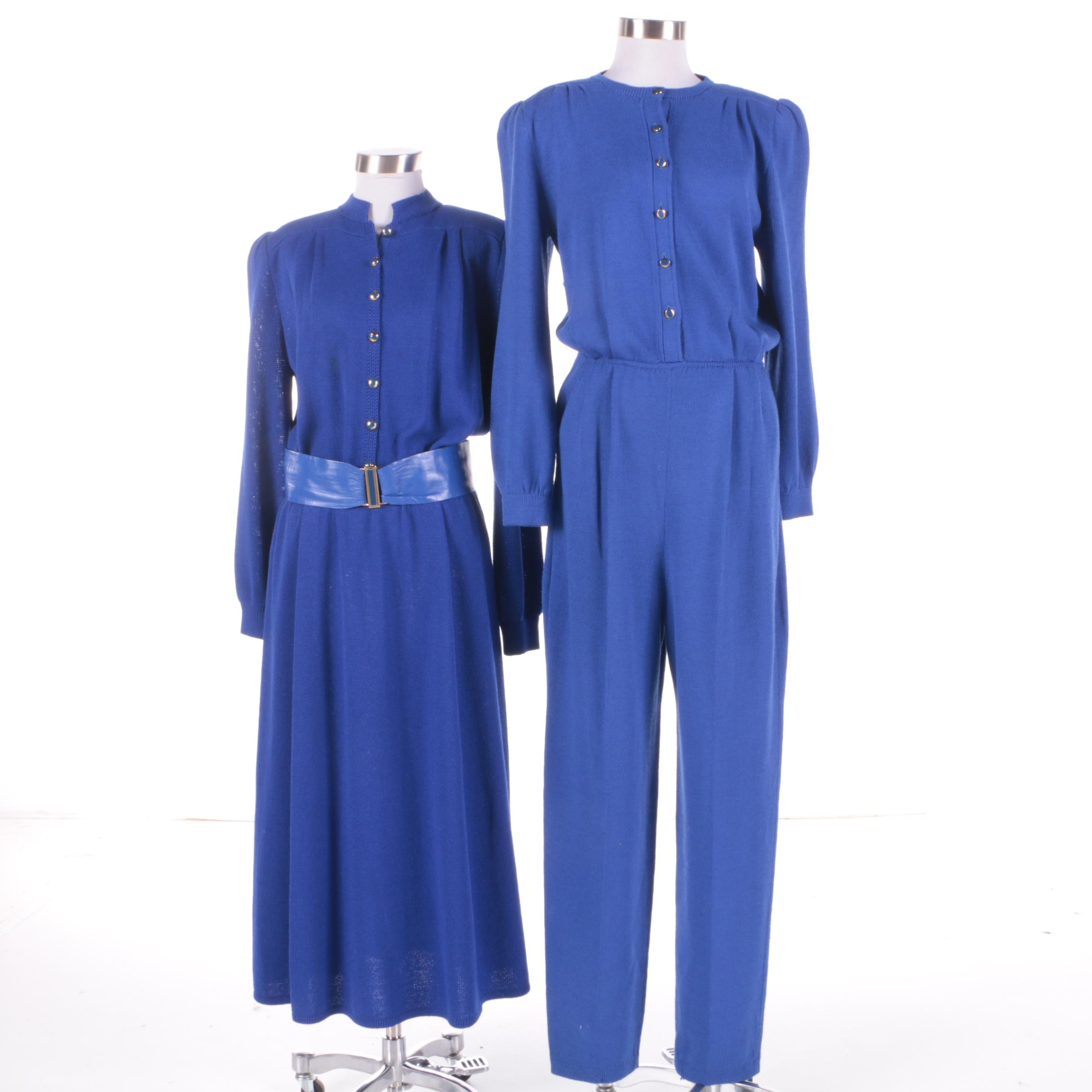Vintage St. John Dress and Jumpsuit