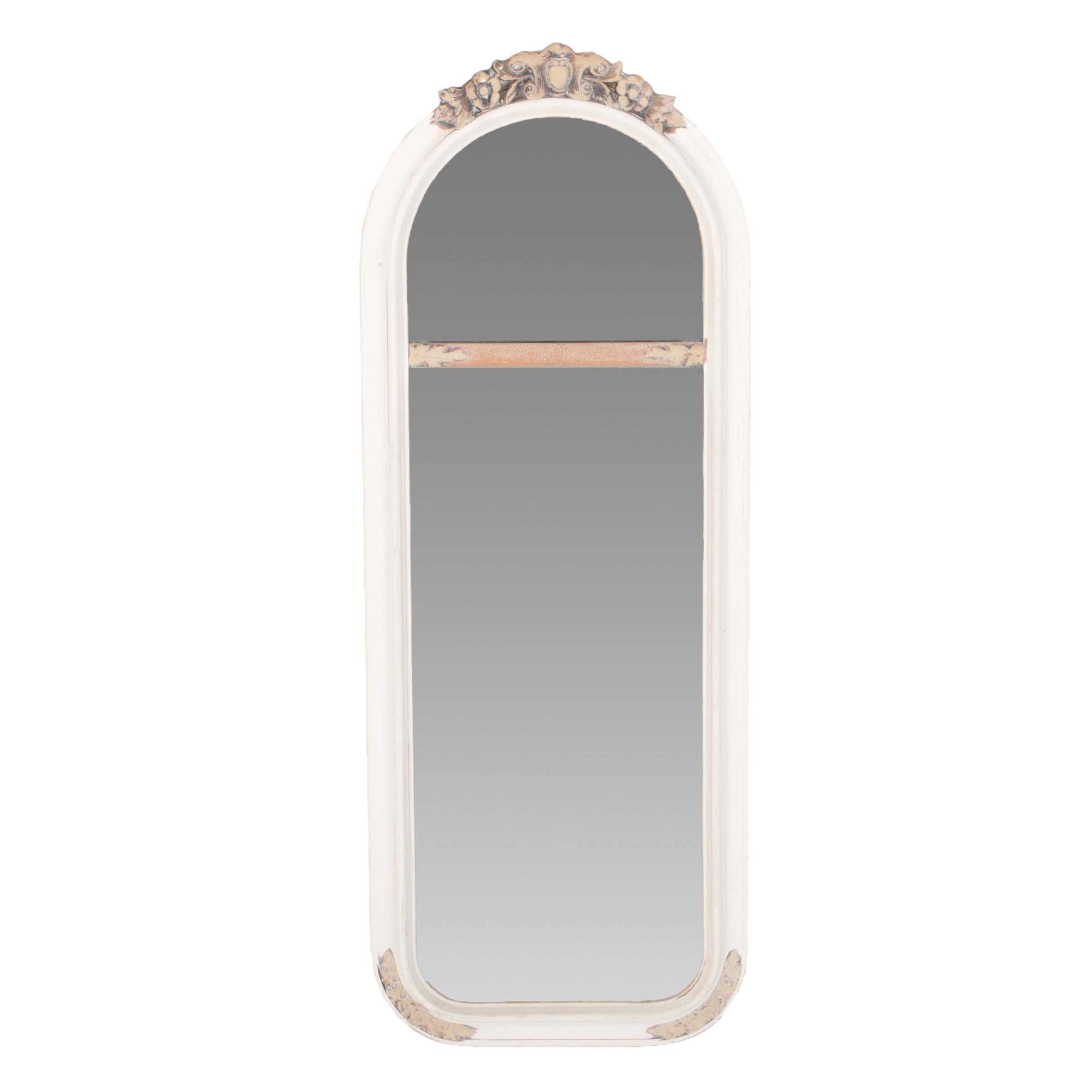 Vintage Arched Trumeau Style Wall Mirror by Hax-Smith Furniture Co