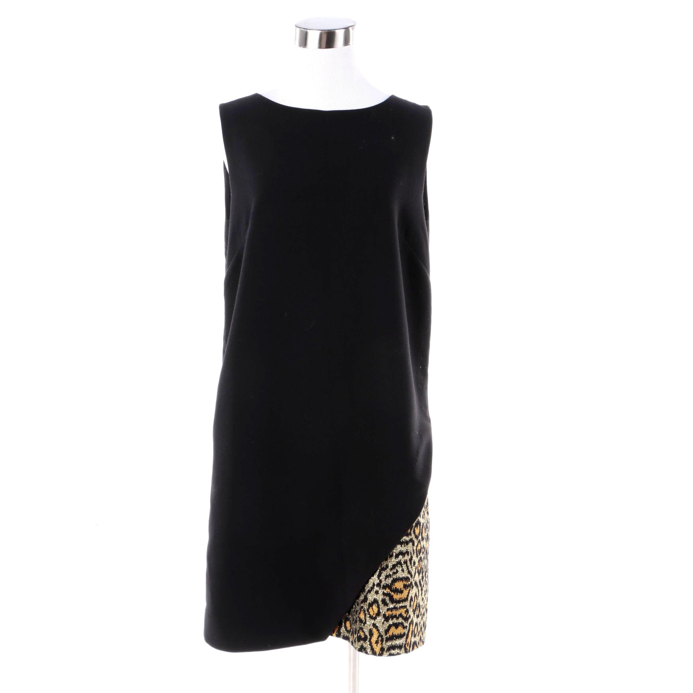 Rachel Comey Leopard Observer Sleeveless Dress