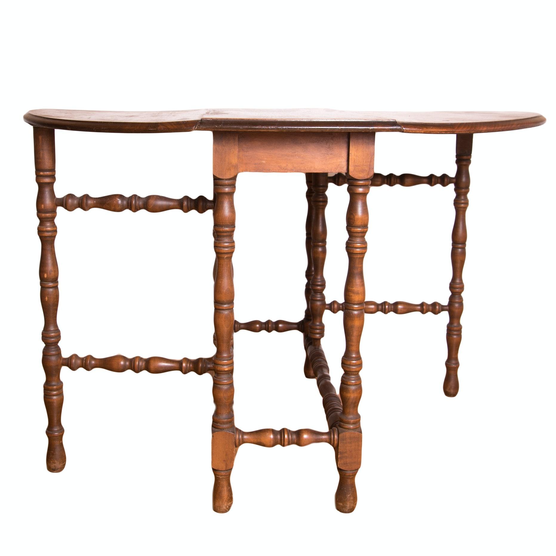 Cherry Gate Leg Table