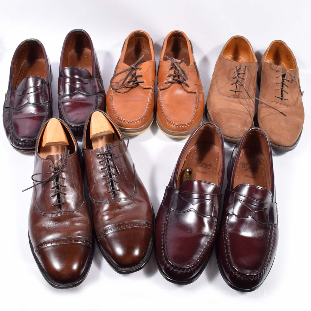 Men's Leather and Suede Shoes Featuring Cole Haan and Allen Edmonds