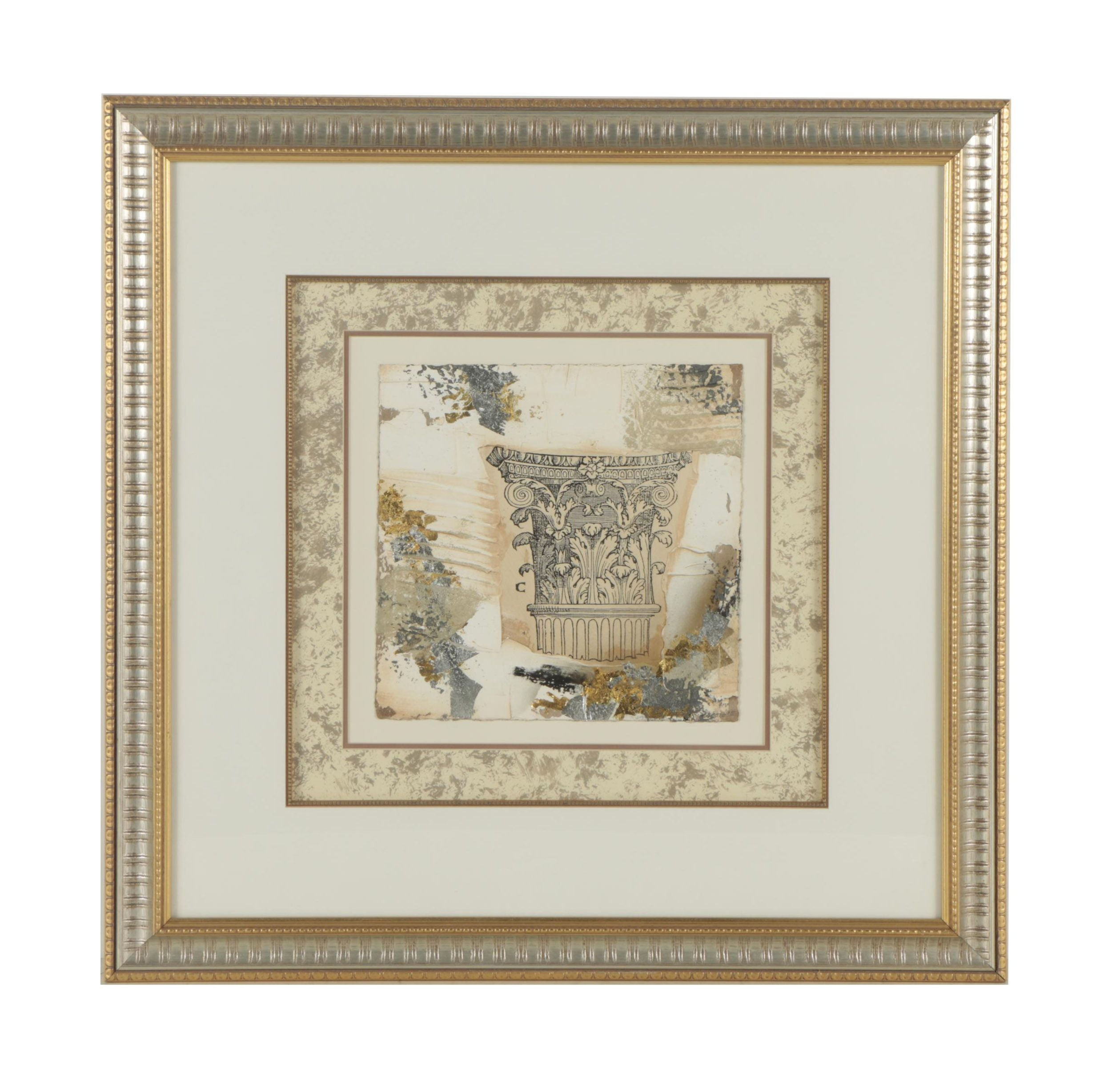 Mixed Media of Architectural Fragments