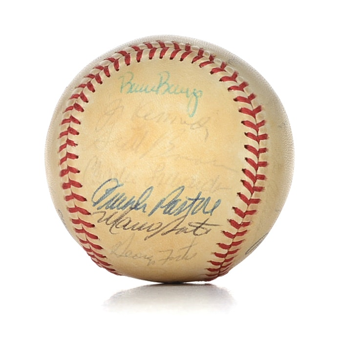 1981 Cincinnati Reds Signed Feeney Baseball