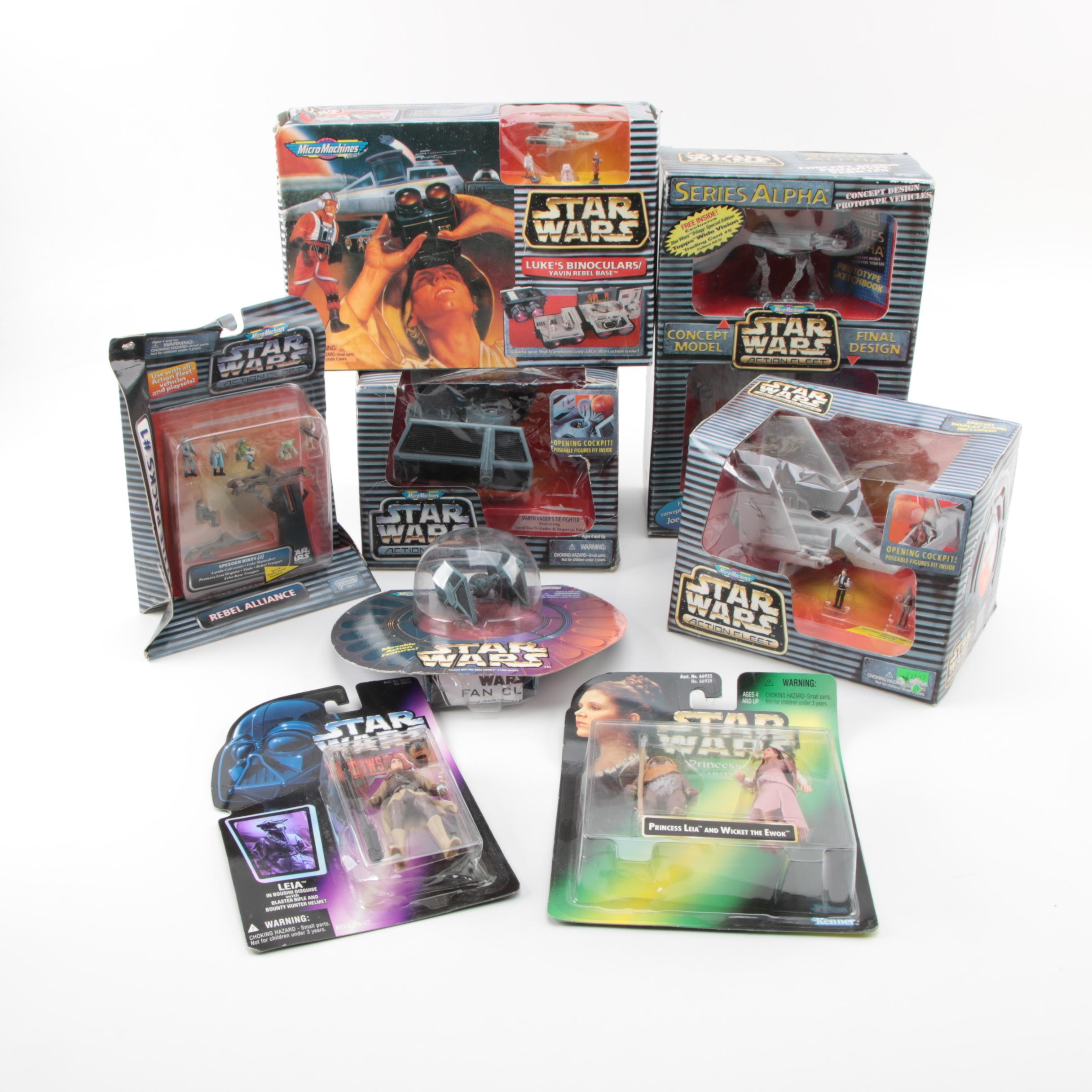 """Star Wars"" Micro Machines and Action Figures"
