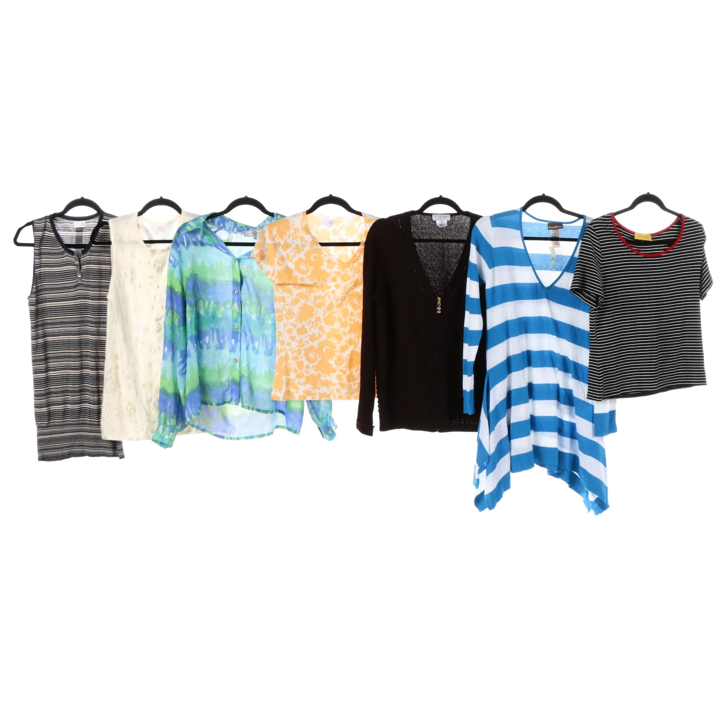 Women's St. John, TSE, and Tommy Bahama Tops