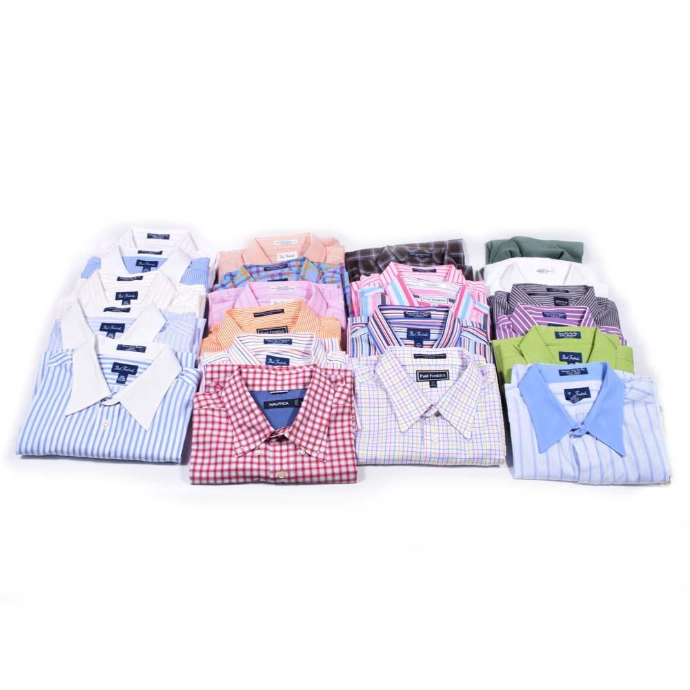 Men's Paul Frederick Cotton Dress Shirts