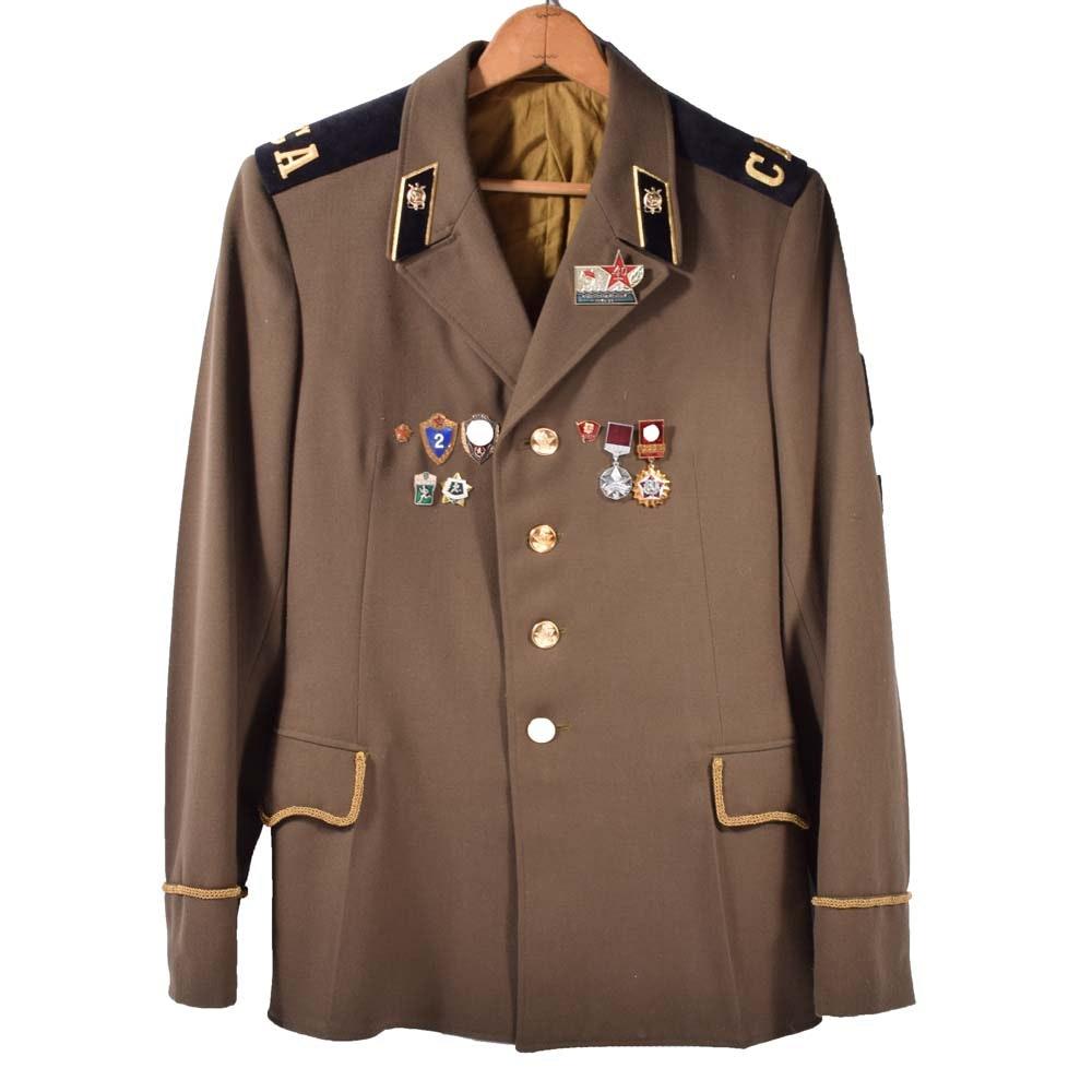 Vintage Soviet Army Jacket