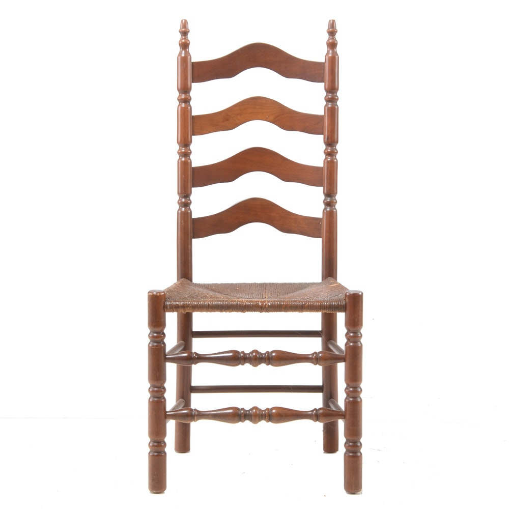 Cherry Ladder-Back Side Chair