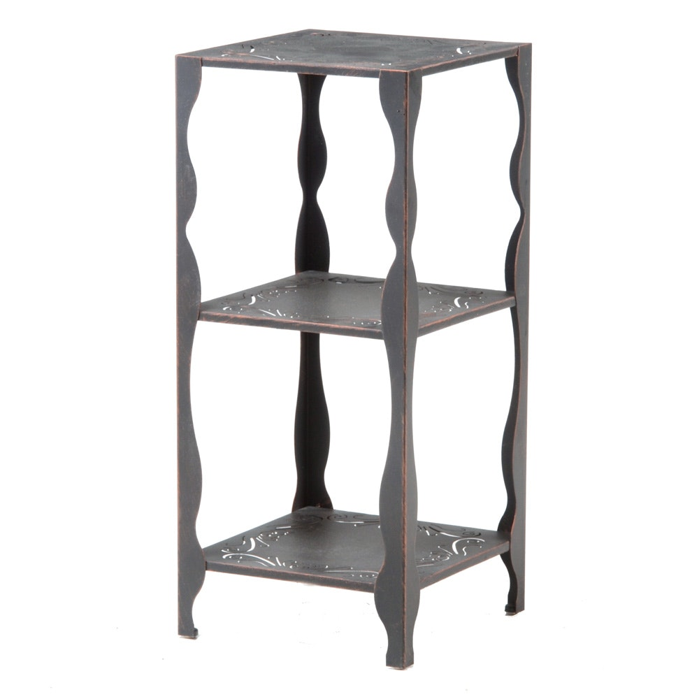 Three Tier Patio End Table