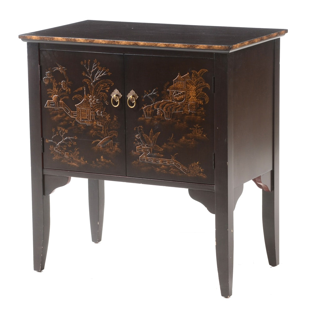Asian Style Side Cabinet