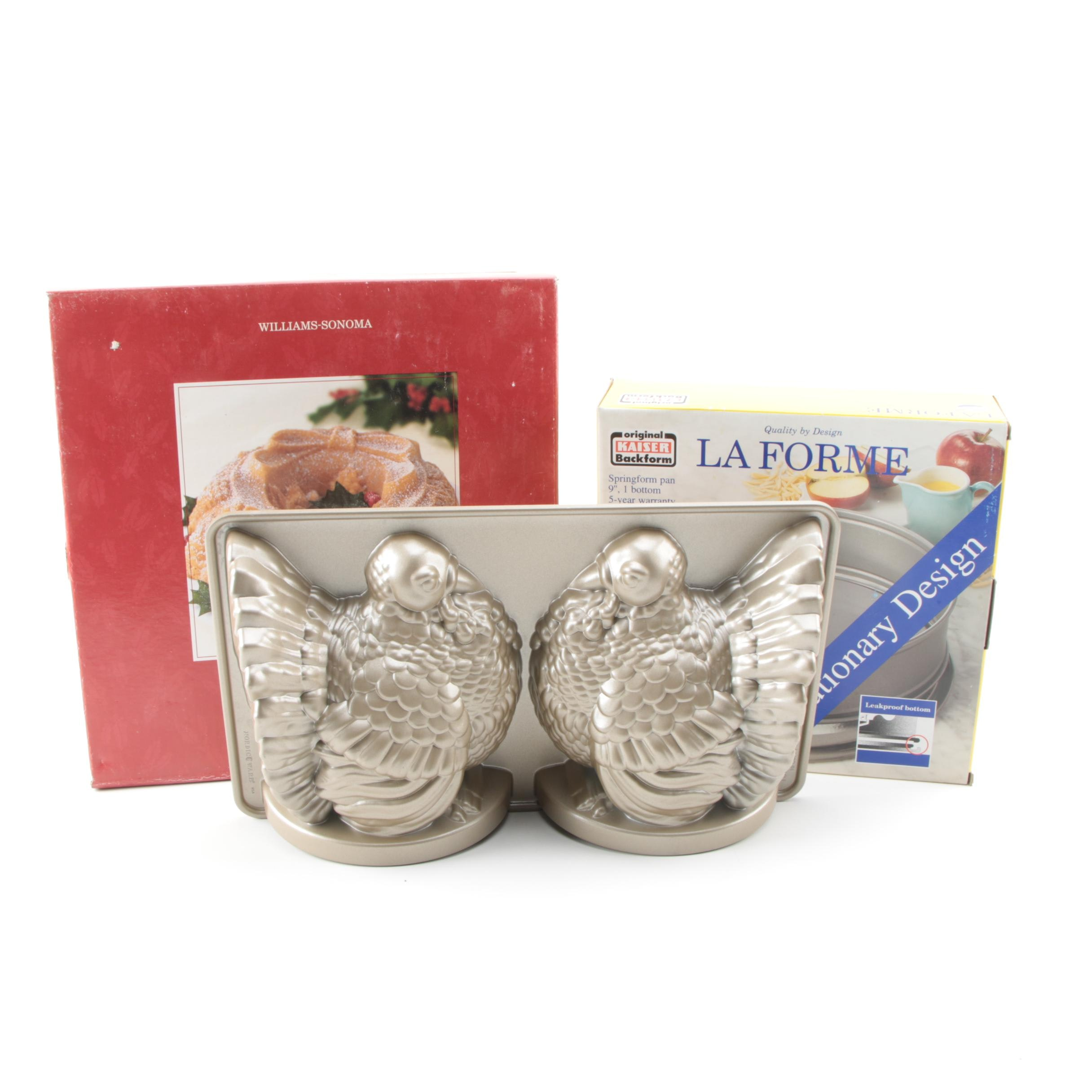Baking Molds and Pans Featuring La Forme and Williams-Sonoma