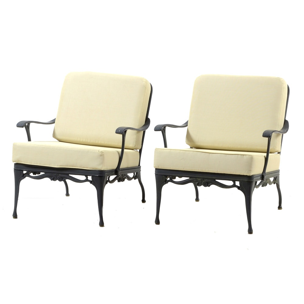 Pair of Patio Armchairs