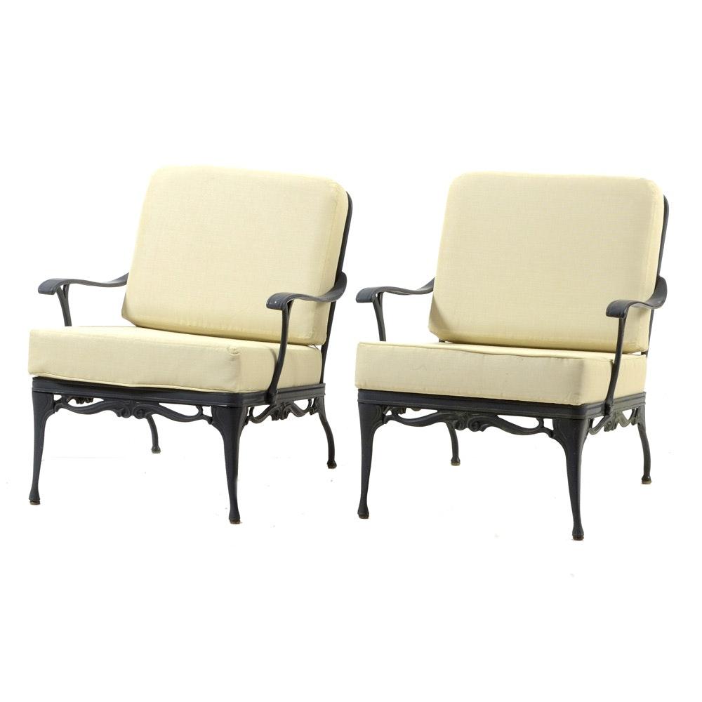 Pair of Patio Armchairs