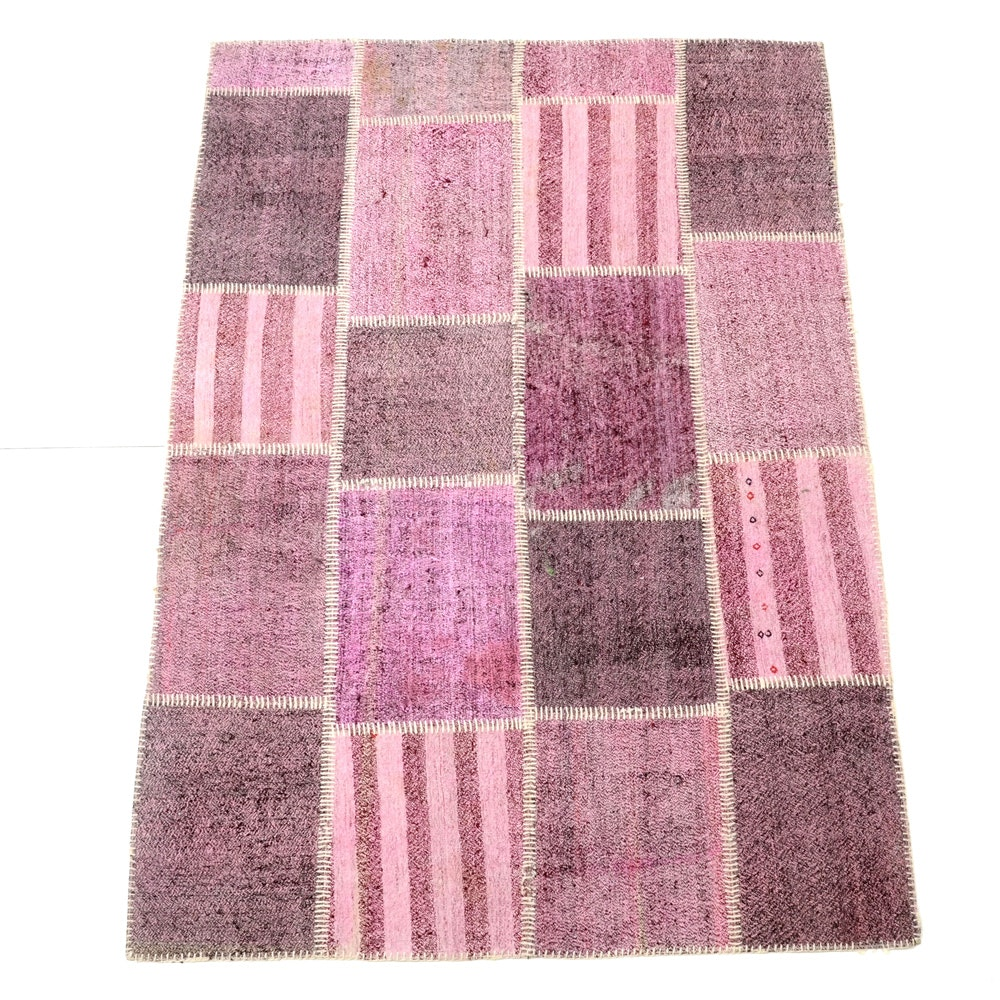 Hand Made Turkish Kilim Patchwork Area Rug