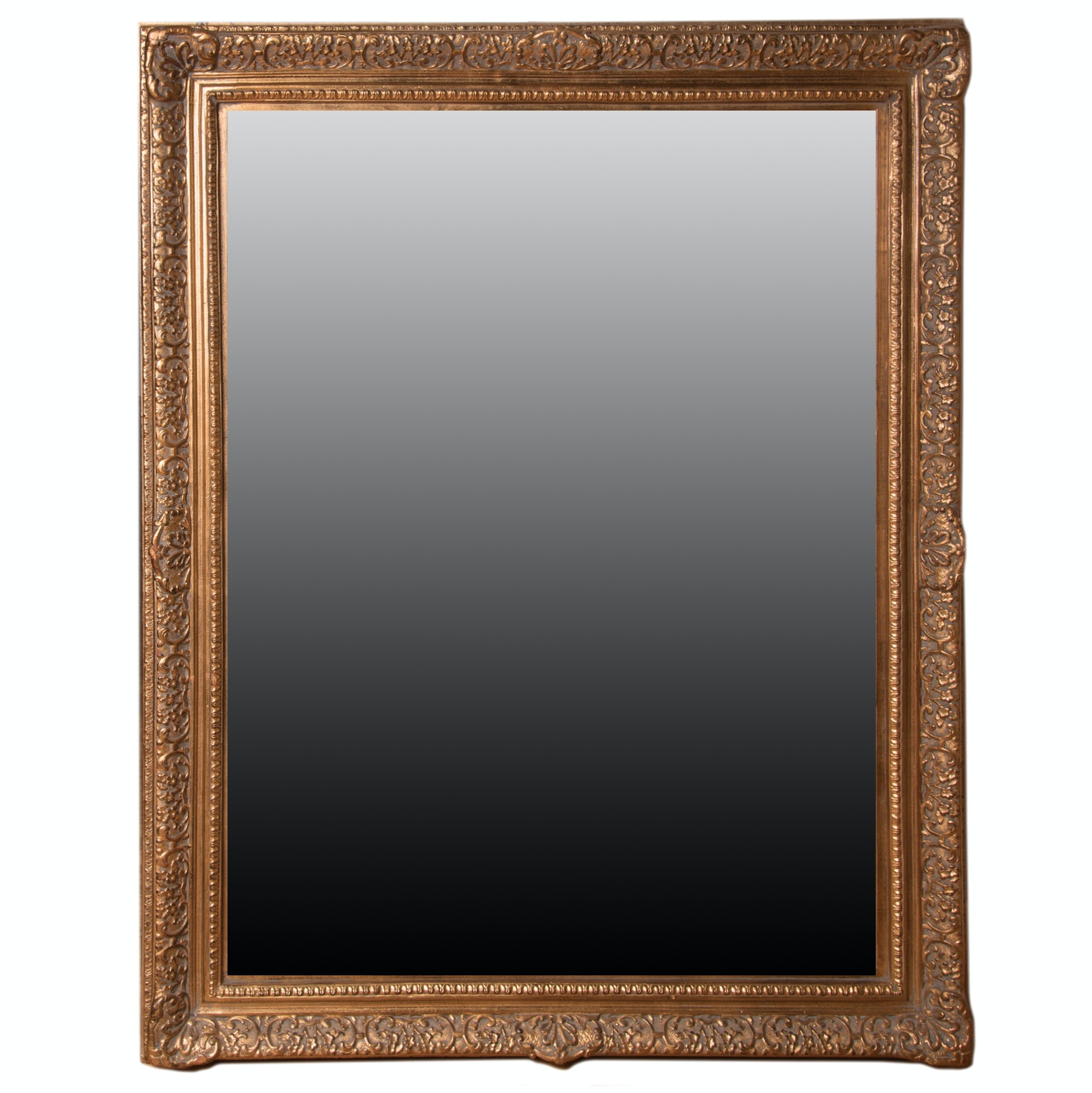 Large Ornate Accent Wall Mirror