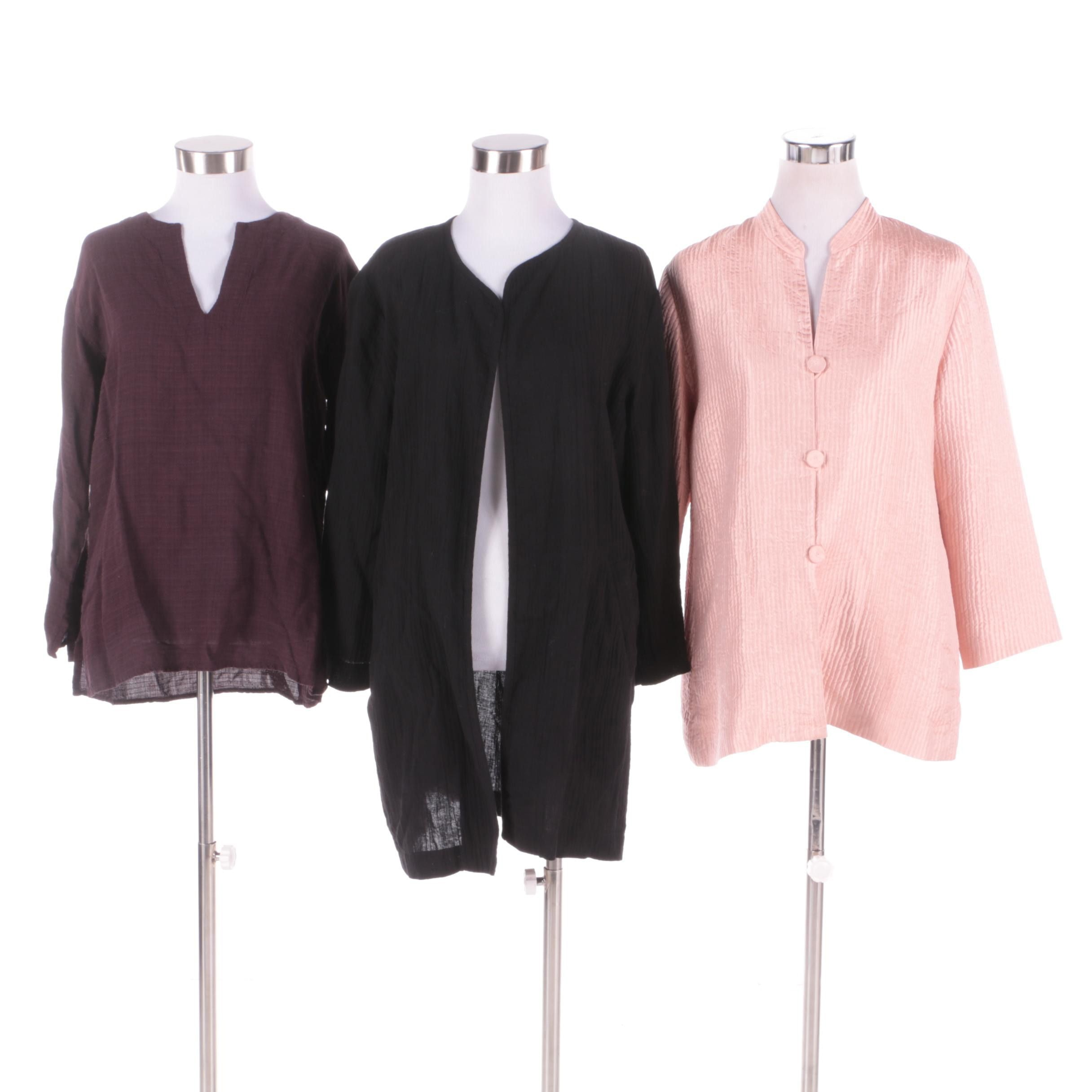 Eileen Fisher Lightweight Jackets and Top