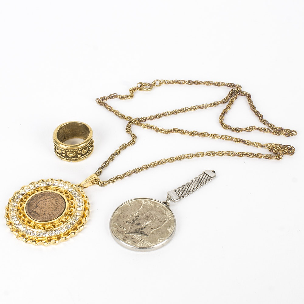 Costume Coin Jewelry Collection