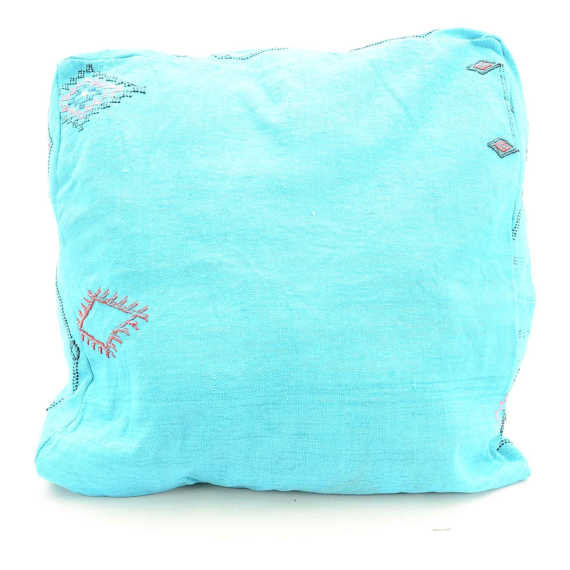 Blue Ocean Traders Cactus Silk Pouf Cover
