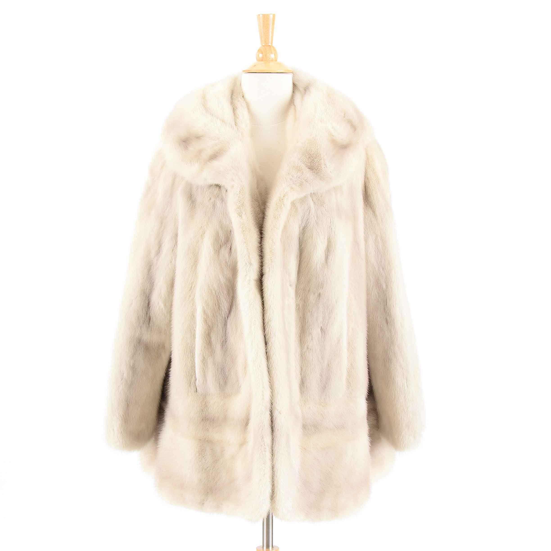 Vintage Azurene Mink Fur Coat