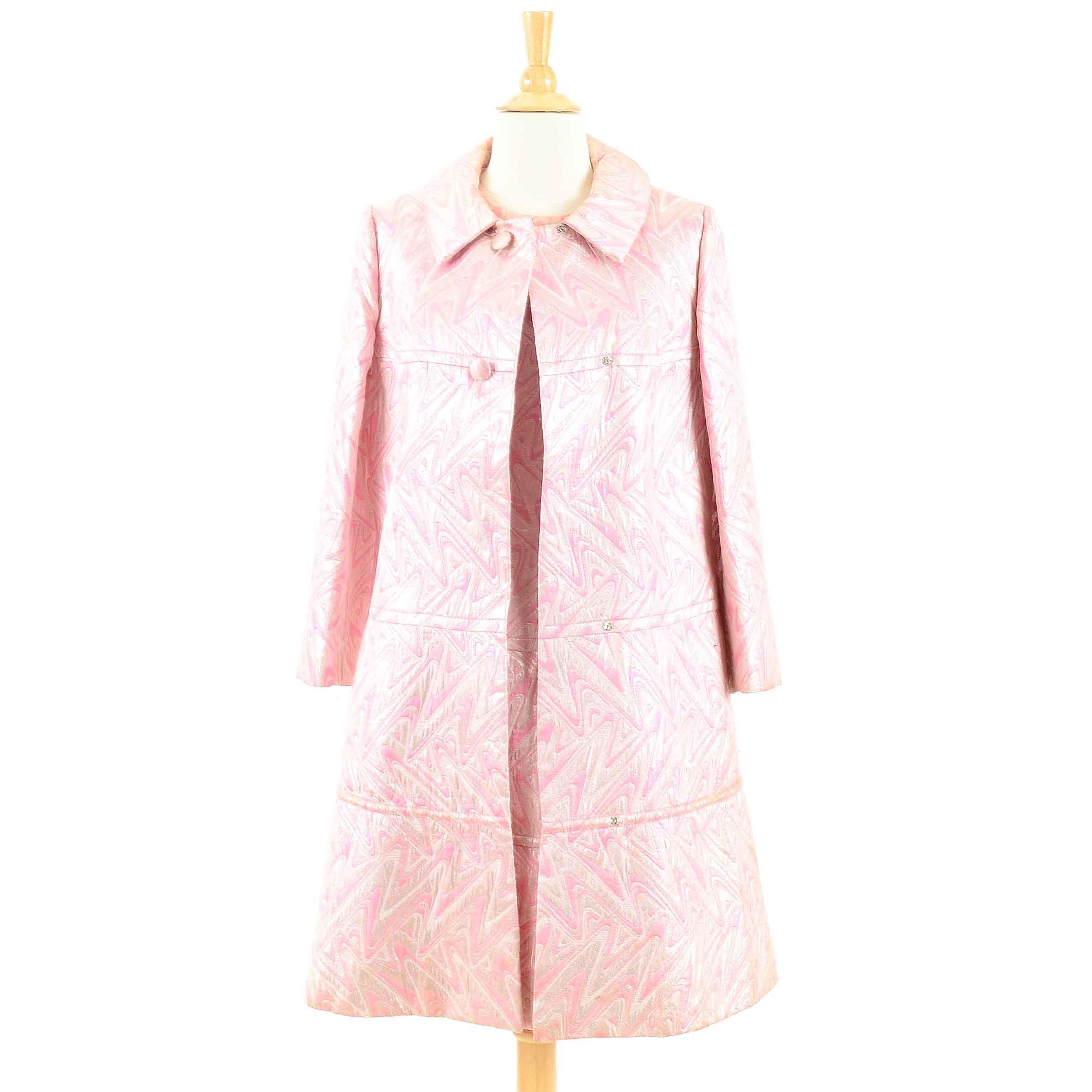 Mid Century Mod Brocade Jacket and Dress
