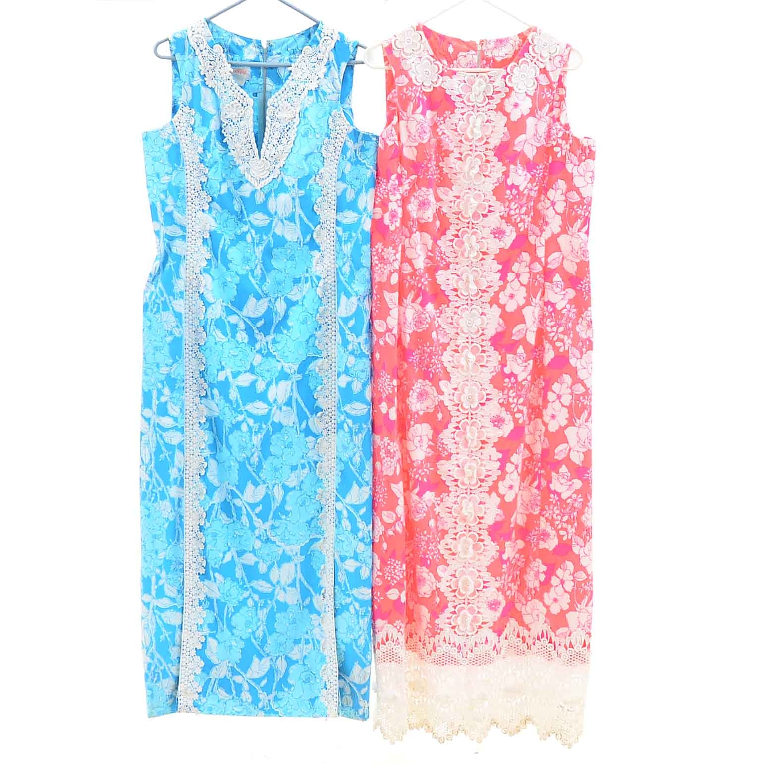 Lilly Pulitzer Floral Sleeveless Dresses