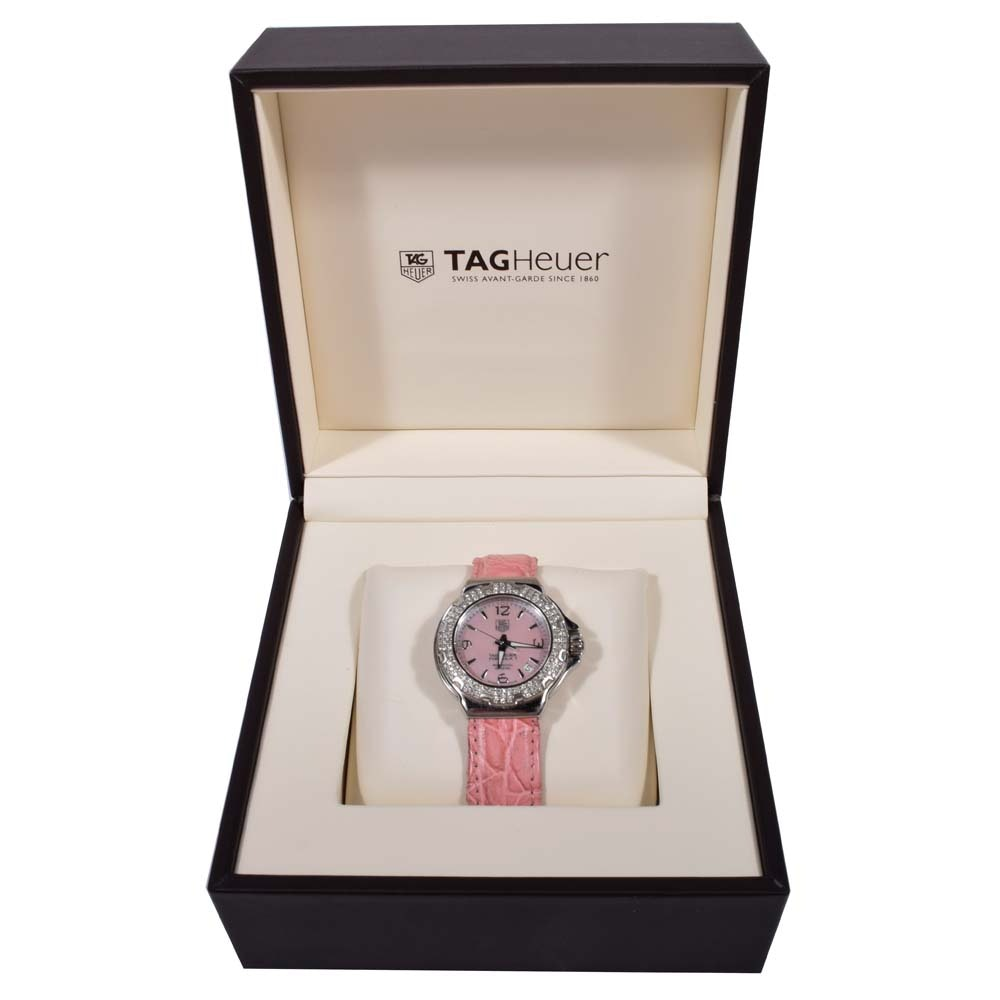 TAG Heuer Stainless Steel and Diamond Formula 1 Wristwatch